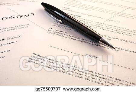 Stock Photo Legal Document Stock Photography Gg75509707 Gograph