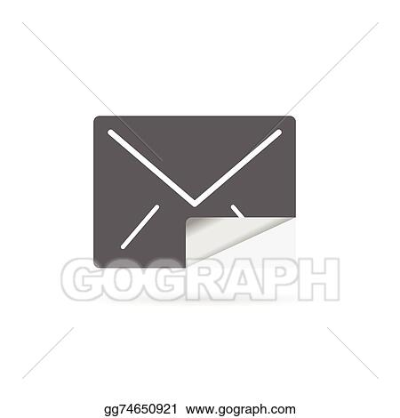 Vector Art Letter Envelope Vector Clipart Drawing Gg74650921