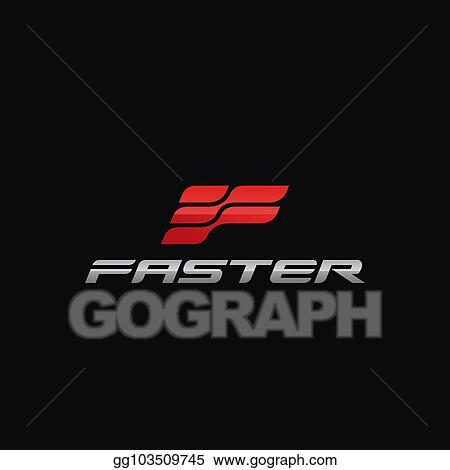 vector illustration letter f logo concept design templates eps