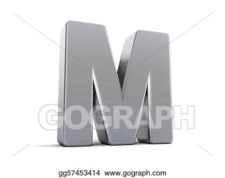 Stock Illustration Letter M Clipart Illustrations Gg57453414