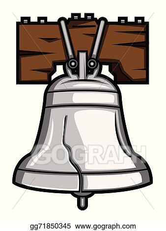 vector stock liberty bell clipart illustration gg71850345 gograph rh gograph com liberty bell clip art black and white liberty bell clipart