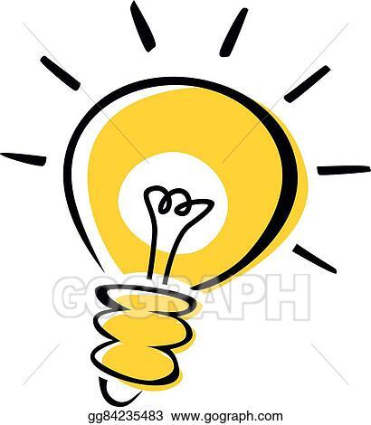 Light Bulb Idea Logotype
