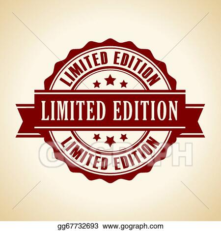 Eps Vector Limited Edition Icon Stock Clipart Illustration