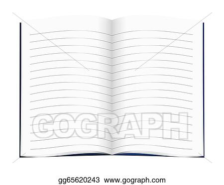 drawing lined blank copy book exercise book school education