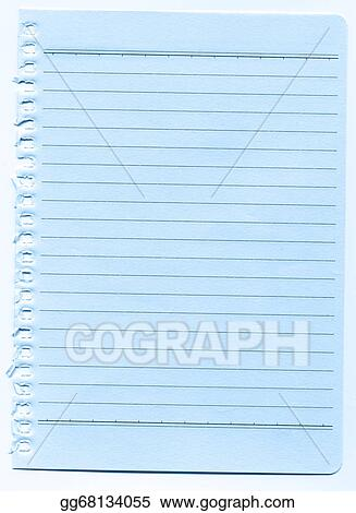 Clip Art Lined Paper Background Stock Illustration