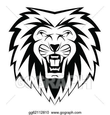 Vector Art Lion Face Clipart Drawing Gg62112810 Gograph Cc fusion sublimated lion mascot (smas012). lion face clipart drawing gg62112810