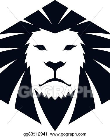 vector illustration lion head template eps clipart gg83512941
