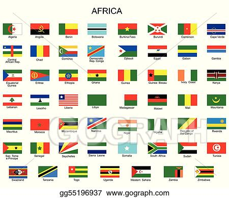 List Of All Flags Africa Countries