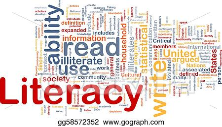 Stock Illustration Literacy Background Concept Clipart Drawing