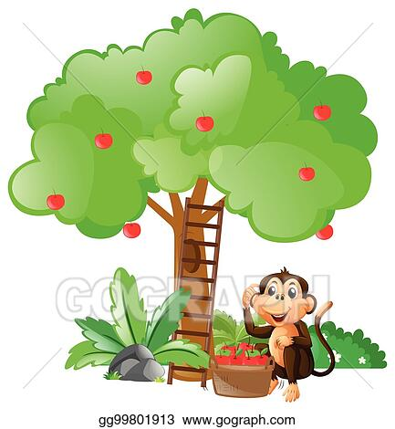 Monkeys In The Tree Clipart - Free Transparent PNG Clipart Images Download