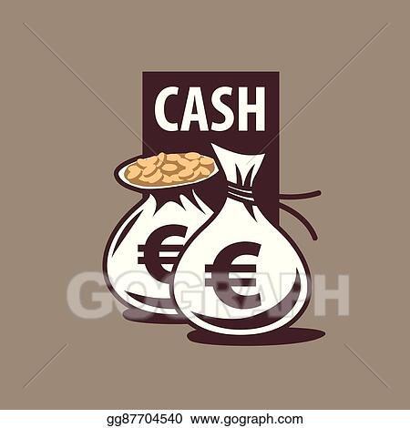 clip art vector logo bag of money stock eps gg87704540 gograph gograph