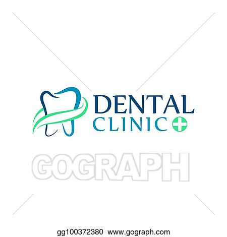 Eps Vector Logo Dental Care Clinic Dentistry For Kids Teeth Abstract Icons Stock Clipart Illustration Gg100372380 Gograph
