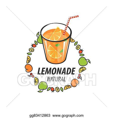 Vector Art - Logo for lemonade  Clipart Drawing gg83412863