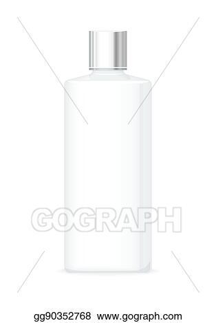 Clip Art Vector Lotion Or Shower Gel Bottle Empty Cosmetic Mesmerizing Decorative Plastic Bottles For Shower