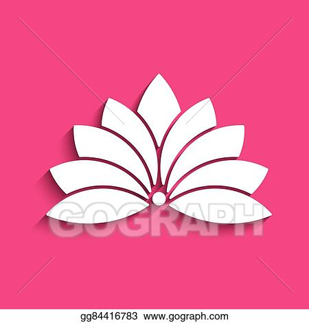 Vector Art Lotus Flower Logo Concept Of Spirituality Peace