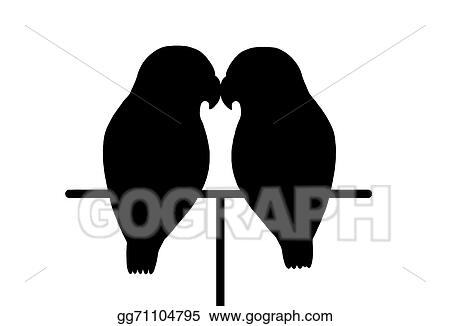 Drawing Love Birds Clipart Drawing Gg71104795 Gograph