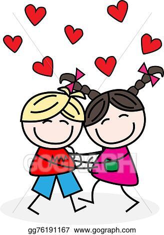 stock illustrations love hugs stock clipart gg76191167 gograph rh gograph com hugs clipart free clipart hugs and kisses
