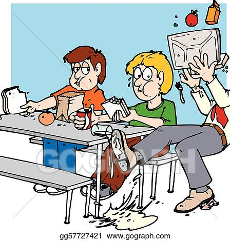 vector art lunch room slip clipart drawing gg57727421 gograph rh gograph com lunchroom behavior clipart Lunchroom Rules