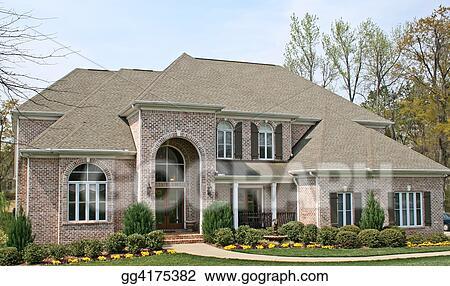 Exceptional Luxury Brick House