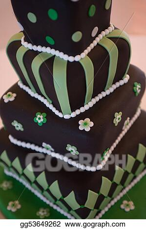 Stock Image - Mad hatter wedding cake. Stock Photo gg53649262 - GoGraph