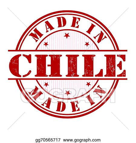 Made In Chile Stamp