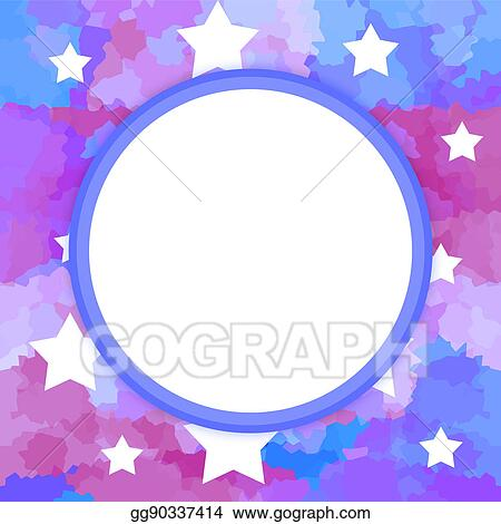 Drawing - Magic frame. Clipart Drawing gg90337414 - GoGraph