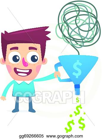 Vector Art - Make money out of nothing  Clipart Drawing