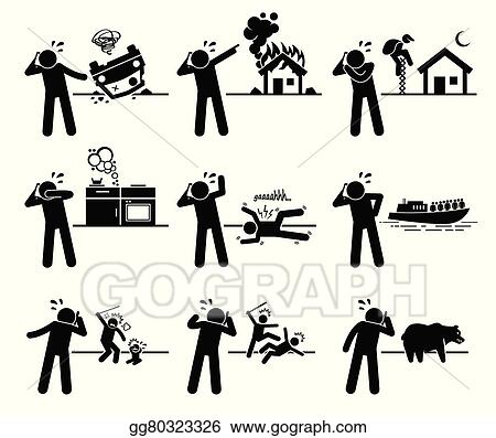 clip art vector man calling emergency call stock eps gg80323326 rh gograph com Cell Call Clip Art Call Center Clip Art