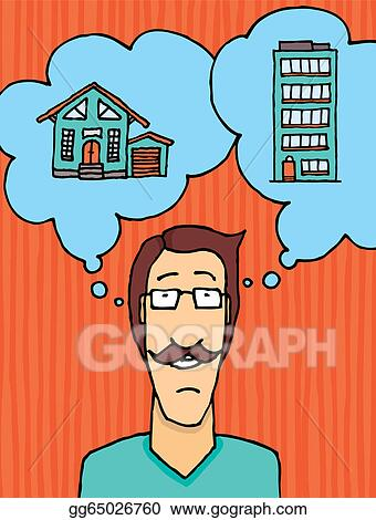 Vector Clipart Man Choosing Where To Live Vector Illustration Gg65026760 Gograph Find great deals on new items shipped from stores to your door. https www gograph com clipart license summary gg65026760