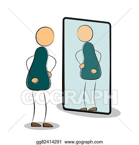 Reflection Clip Art