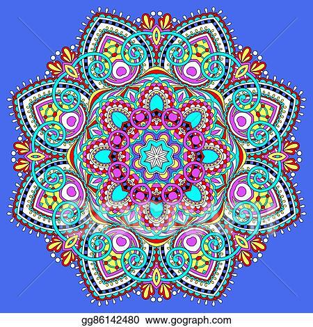 Vector clipart mandala circle decorative spiritual indian symbol mandala circle decorative spiritual indian symbol of lotus flow mightylinksfo