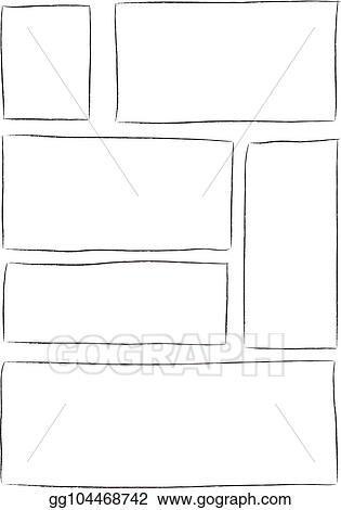 Manga Storyboard Template