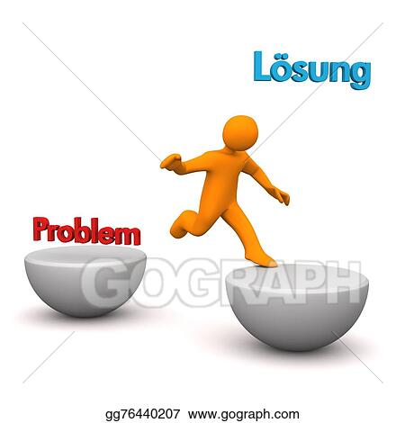 Stock Illustrations - Manikin problem solution  Stock