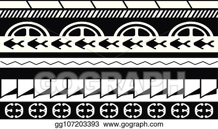 2f3d735d4 Maori / Polynesian Tattoo Style Ornament - Ready for Print and used for  Stencyl as Custom Artwork