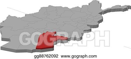 Vector Clipart - Map - afghanistan, kandahar - 3d-illustration ... on karachi pakistan map, bagram afghanistan map, ghazni province, pakistan afghanistan map, badakhshan province, kunar province, paktika province, laghman province, operation enduring freedom afghanistan map, kondoz afghanistan map, arghandab district afghanistan map, kabul afghanistan map, kabul province, middle east map, nangarhar province, panjshir province afghanistan map, herat map, helmand river, islamabad afghanistan map, paktia province, khost province, herat province, wardak province, torkham afghanistan map, helmand province, wakhan corridor afghanistan map, camp rhino afghanistan map, us military bases afghanistan map, gandamak afghanistan map, khyber pass afghanistan map, nuristan afghanistan map, mazar-e sharif, fallujah afghanistan map, kapisa province afghanistan map,