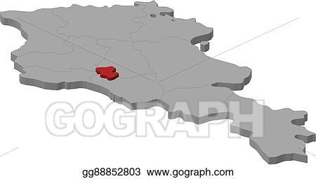 armenia yerevan map