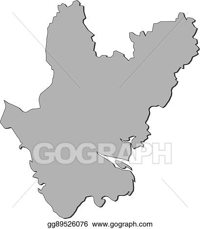 Vector Illustration - Map - dhaka (bangladesh). EPS Clipart ...