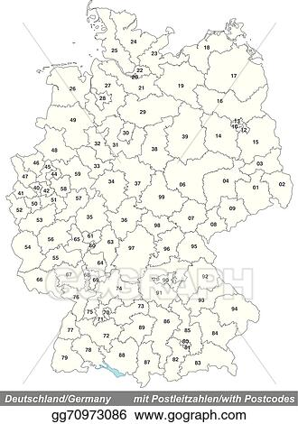 Map Of Germany With Zip Codes