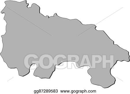 Map Of Spain Drawing.Vector Art Map Of La Rioja Spain Clipart Drawing Gg87289583