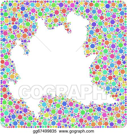 Vector Illustration Map Of Lombardy Italy Stock Clip Art
