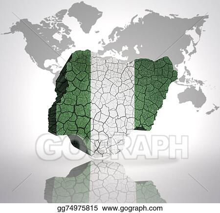 Drawings map of nigeria stock illustration gg74975815 gograph map of nigeria gumiabroncs Gallery