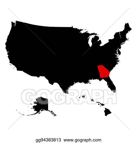 Vector Stock - Map of the u. s. state georgia. Clipart ... on mississippi's state map, georgia state parks map, florida's state map, georgia's nature, california's state map, georgia's golden coast, alabama's state map, iowa's state map, georgia state natural resource map, state of georgia county map, savannah georgia state map, georgia's 13th congressional district, oregon's state map, georgia state capital map, georgia's population of people, michigan's state map, kentucky's state map, georgia's history, washington's state map, georgia's 1st congressional district,
