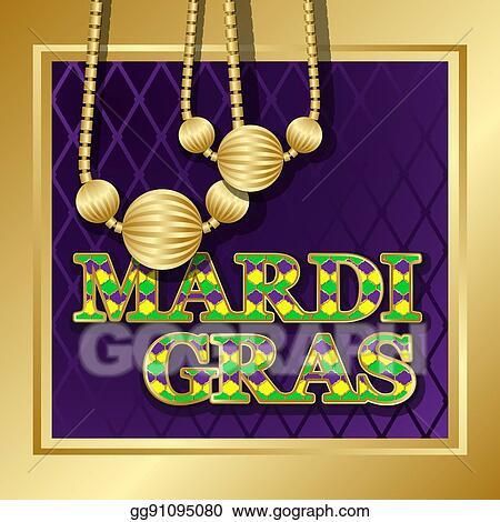 Vector illustration mardi gras background stock clip art mardi gras background m4hsunfo