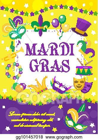 Mardi Gras Template from comps.gograph.com