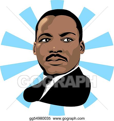 stock illustration martin luther king 2 clipart gg54980035 gograph rh gograph com mlk clip art on freedom milk clip art free