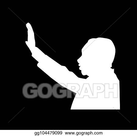 Vector Art Martin Luther King Day I Have A Dream Eps Clipart