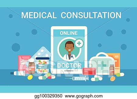 Doctor Consultation Banners Train Banners