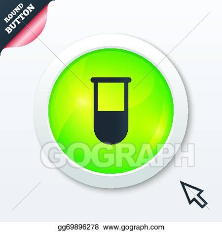 Vector Stock Medical Test Tube Sign Icon Lab Equipment Stock