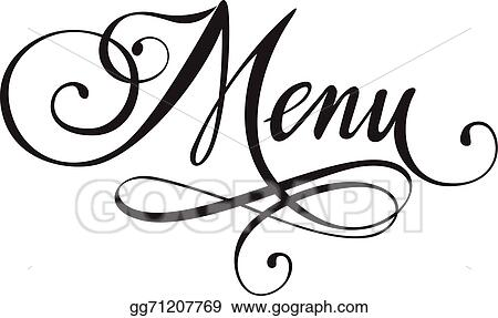 vector art menu clipart drawing gg71207769 gograph rh gograph com menu clipart gratuit menu clipart di word 2013
