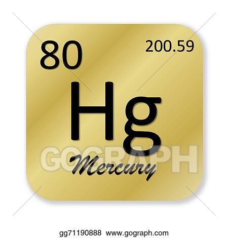 Stock Illustrations Mercury Element Stock Clipart Gg71190888